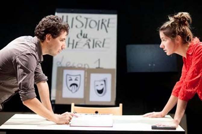 Histoire du théâtre en deux leçons - Critique sortie Avignon / 2014 Avignon Le Grenier à sel