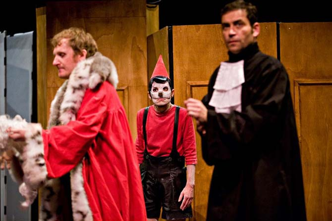 Le procès de Pinocchio - Critique sortie Avignon / 2014 Avignon école élémentaire Pouzaraque