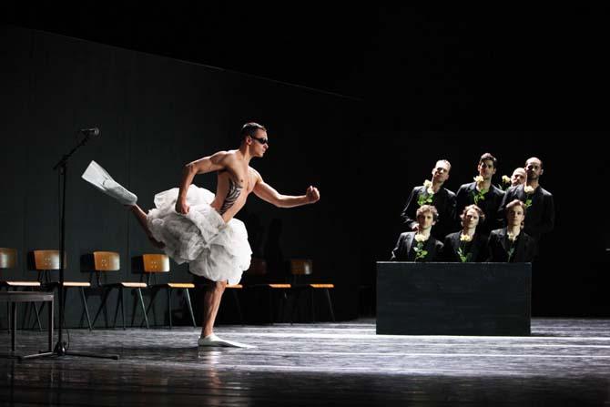 Crédit : Hans Gerritsen Légende : Le Ballet Royal de Flandre est à Biarritz.