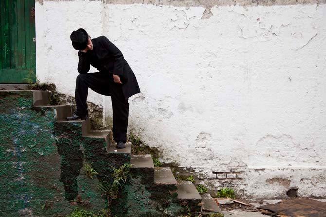 Le crooner argentin et décalé Melingo, le 11 octobre au Théâtre de l'Archipel de Perpignan. © Alfredo Srur