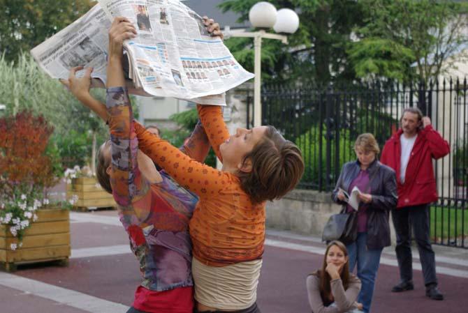 Danses Ouvertes - Critique sortie Danse Fontenay-aux-Roses Gymnase du Parc