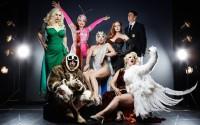 Les acteurs du Cabaret New Burlesque au Cirque d'Hiver.  © Julien Weber