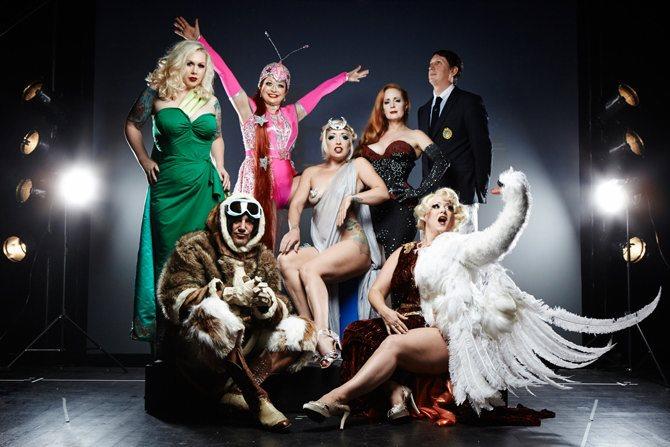Le Cabaret New Burlesque - Critique sortie Jazz / Musiques Paris Cirque d'hiver