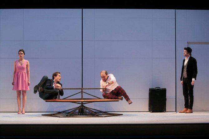 Le Jeu de l'amour et du hasard - Critique sortie Théâtre Boulogne-Billancourt Théâtre de l'Ouest Parisien