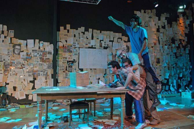 Tratando de hacer una obra que cambie el mundo (el delirio final de los ultimos romanticos) - Critique sortie Théâtre Montreuil Nouveau Théâtre de Montreuil
