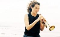 En 2012, Airelle Besson a composé pour l'Orchestre National de Lyon une œuvre symphonique d'accompagnement du film Loulou de G.W. Pabst. © Lucille Reyboz