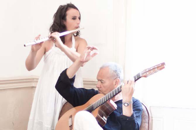 Ninon Valder et Colacho Brizuela - Critique sortie Jazz / Musiques Paris Baiser Salé