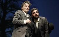 Antoine Sterne et Gilles Masson dans En attendant Godot.DR