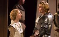 Clément Morinière et Jeanne Cohendy dans Lancelot du Lac. Crédit photo : Franck Beloncle