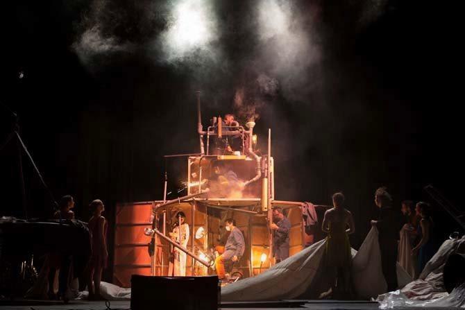 Tempus Fugit - Critique sortie Théâtre Saint-Quentin-en-Yvelines __Théâtre de Saint-Quentin en Yvelines