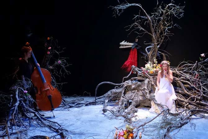 Quelque part au cœur de la forêt : la belle et la bête - Critique sortie Théâtre Paris Théâtre Le Grand Parquet