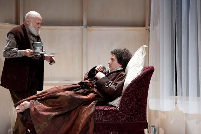 Oblomov - Critique sortie Théâtre Paris Comédie-Française - Théâtre du Vieux-Colombier