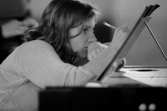 La claveciniste Céline Frisch.