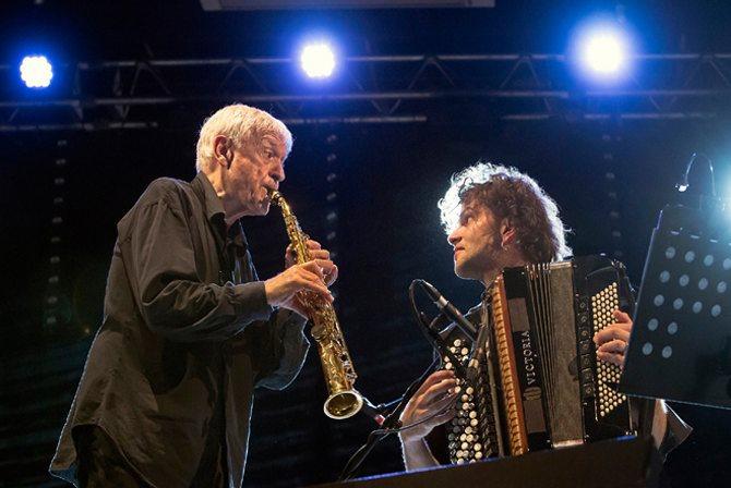 Michel Portal et Vincent Peirani - Critique sortie Jazz / Musiques Saint-Quentin-en-Yvelines __Théâtre de Saint-Quentin en Yvelines