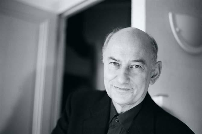 La Maison de la Radio accueille le compositeur Hugues Dufourt pour une nouvelle œuvre pour orchestre. © Astrid Karger