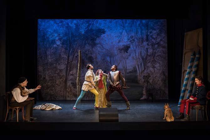 La Dame aux jambes d'azur - Critique sortie Théâtre Paris Studio-Théâtre de la Comédie-Française