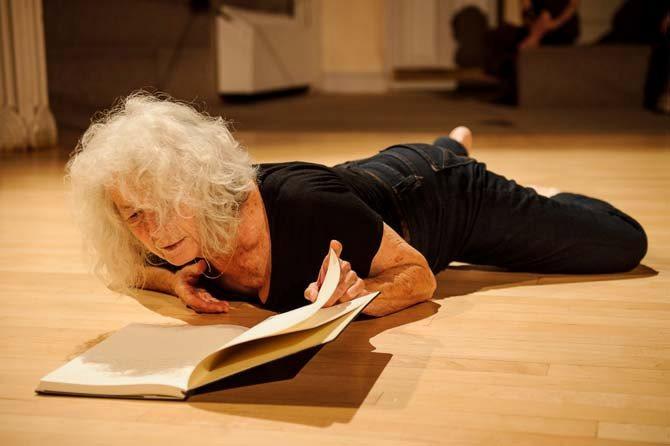 Simone Forti - Critique sortie Danse Paris Atelier de Paris