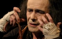 Charles Gonzalès en Camille Claudel dans l'enfer de Montdevergues. Crédit photo : Pascal Victor