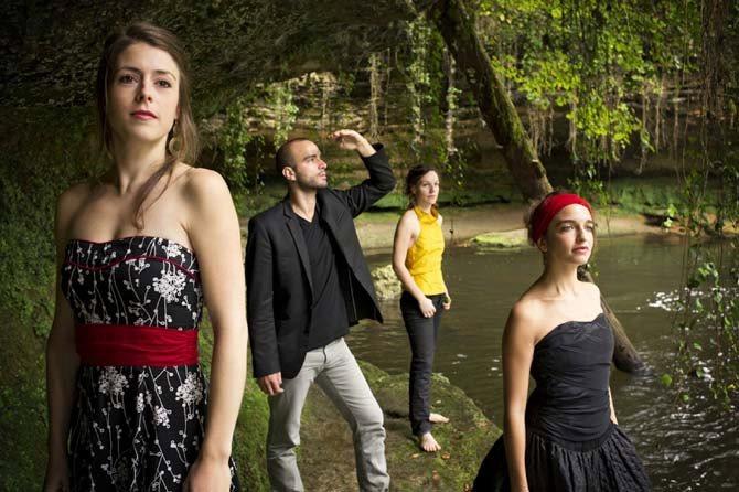 Quatuor Voce - Critique sortie Classique / Opéra Paris Grand amphithéâtre de la Sorbonne
