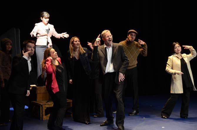 Une performance de l'Ensemble « Les Cris de Paris » sur d'étranges voix féminines du monde. © D.R.