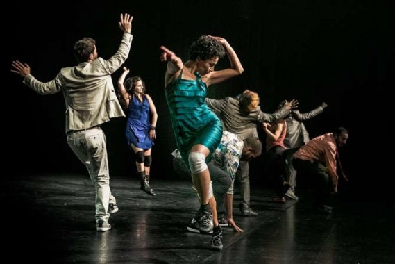 Crédit photo : DR Légende photo : Les dix performers pétillent d'énergie.