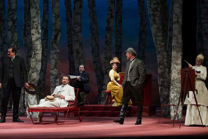 Les Estivants - Critique sortie Théâtre Paris Comédie-Française