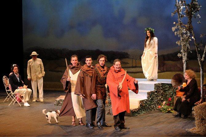Entre les actes - Critique sortie Théâtre Paris Vingtième Théâtre