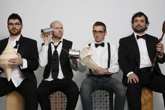 L'exceptionnel groupe newyorkais So Percussion, en concert le 21 mai à Aubervilliers. © DR