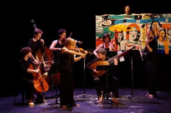 Le Concert idéal, l'ensemble de la violoniste Marianne Piketty, avec la comédienne Irène Jacob, le 27 juin à 21h.