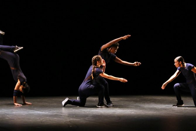Légende : Le quatuor finement ciselé d'Anne Nguyen. © Jean Barak