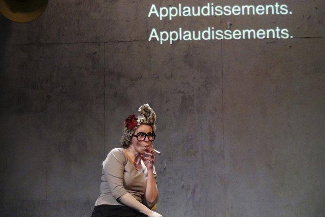 La Visite de la vieille dame - Critique sortie Avignon / 2015 Avignon Théâtre du Petit Louvre