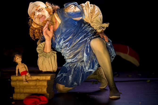 Un gros gras grand Gargantua - Critique sortie Avignon / 2015 Avignon Théâtre des Barriques