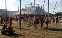 Le Festival Solydays sur l'hippodrome de Longchamp