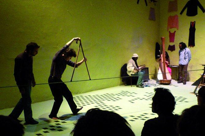 L'Atelier du Plateau fait son cirque - Critique sortie Théâtre Paris L'Atelier du Plateau