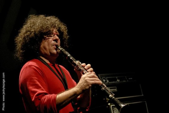 Le clarinettiste Sylvain Kassap. © Jacky Lepage