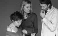 Anne Théron (au centre), avec Marie-Laure Crochant et Laurent Sauvage. Crédit : Jean-Louis Fernandez