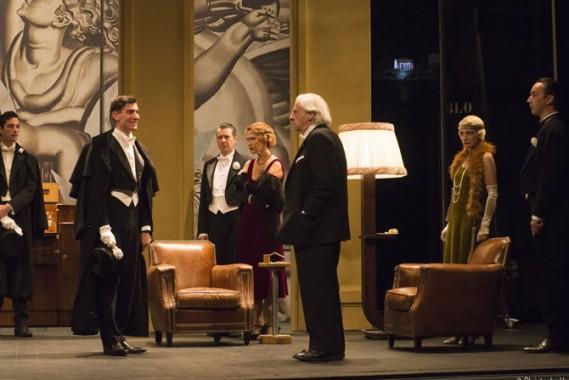 Le Roi Lear, dans la mise en scène de Jean-Luc Revol. © Christophe Vootz