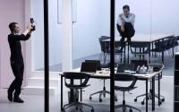 Nicolas Doremus (chef opérateur) et Mathias Labelle (Jean Personne) dans Nobody.