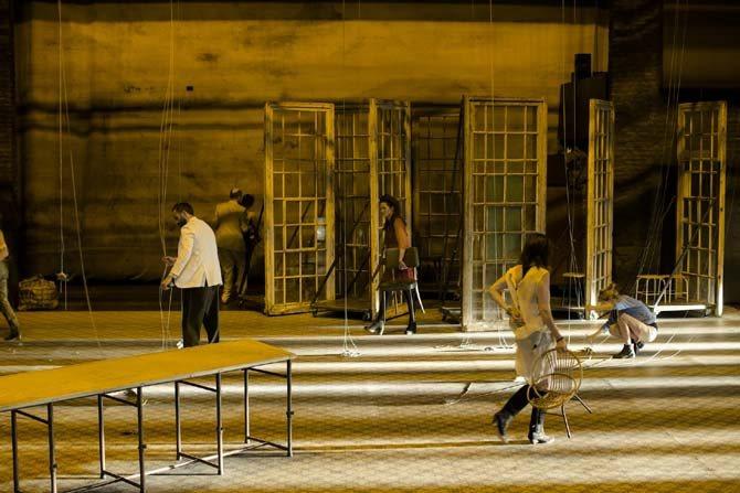 La Cerisaie - Critique sortie Théâtre Paris la colline
