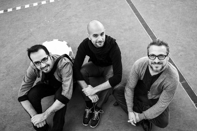 Le trio de Shai Maestro  © Herbert Ejzenberg
