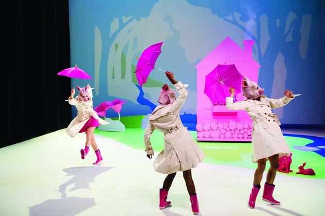 Barbe Neige et les sept petits cochons au bois dormant - Critique sortie Danse Paris Théâtre du Rond Point
