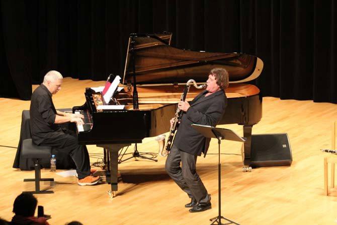 Louis Sclavis-François Raulin Duo - Critique sortie Jazz / Musiques Le Perreux-sur-Marne Auditorium Maurice Ravel