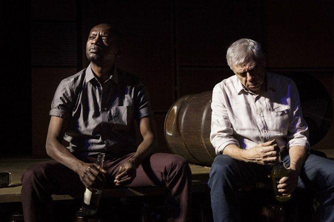 © Christophe Raynaud de Lage  Dorcy Rugamba et Daniel Martin, interprètes de Alboury et Horn.