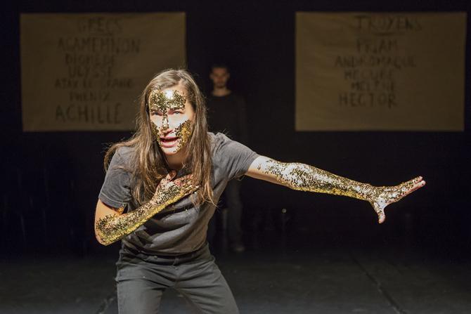 Iliade - Critique sortie Théâtre Paris Théâtre de Belleville