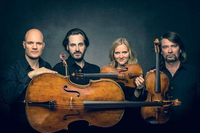 Quatuor Artemis © Molina Visuals