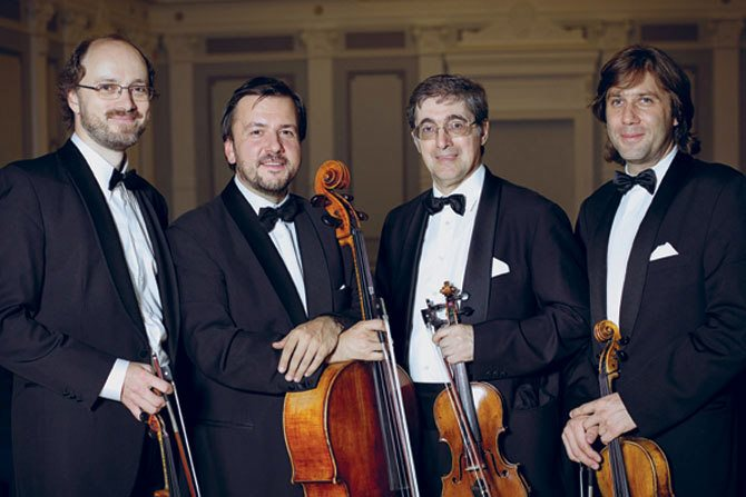 Quatuor Borodine © Keith Saunders