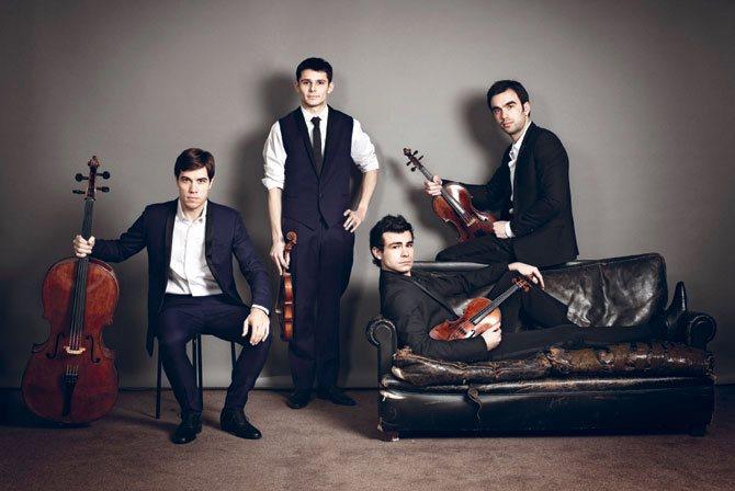 Quatuor Modigliani © Jérôme Bonnet