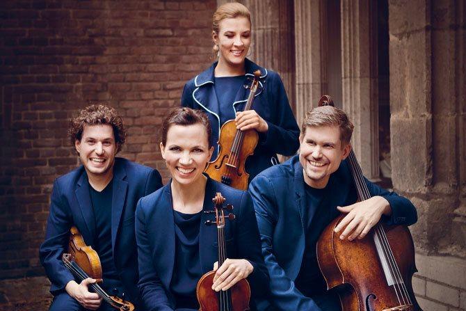 Quatuor Signum © Irene Zandel