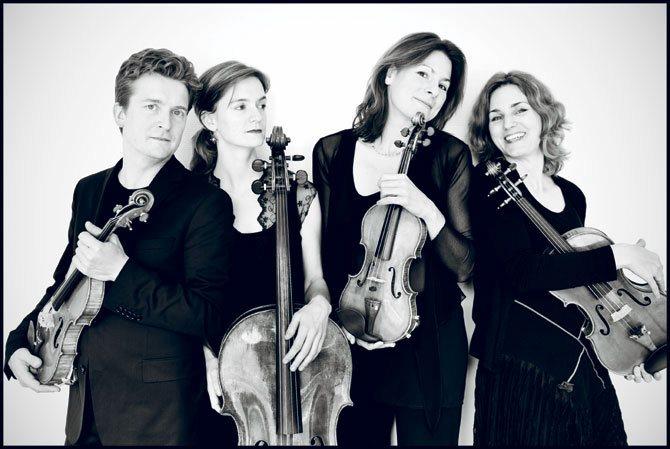 Quatuor Tetzlaff © Georgia Bertazzi