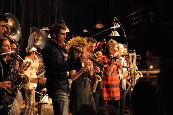 Surnatural Orchestra / Tumblephase - Critique sortie Jazz / Musiques Paris Carreau du Temple